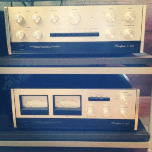Pre- an Power Amp from Accuphase