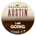 DrupalconNA - Going Badge