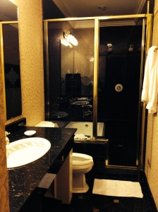 Bathroom hotel Driskill, Austin
