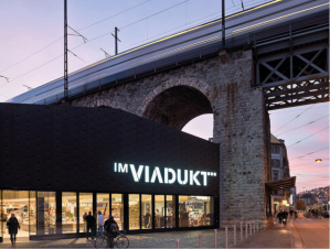 The Markthalle at Zurich Viadukt
