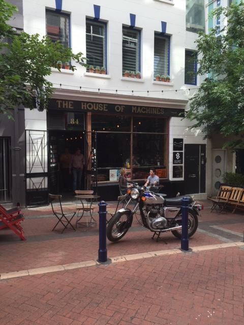 Street scene at Shortmarket Capetown